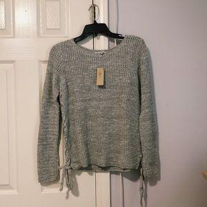 NWT oatmeal American Eagle sweater